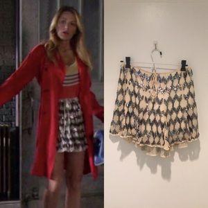 Elizabeth & James Edith Sequin Mini Skirt XS